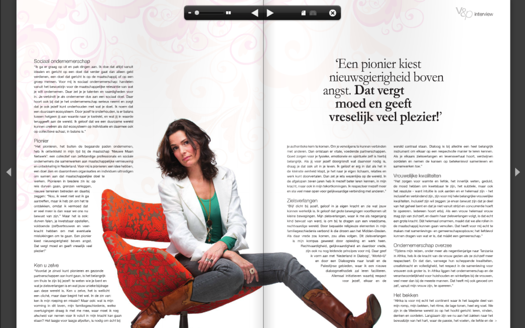 Interview V&P - maart 2012