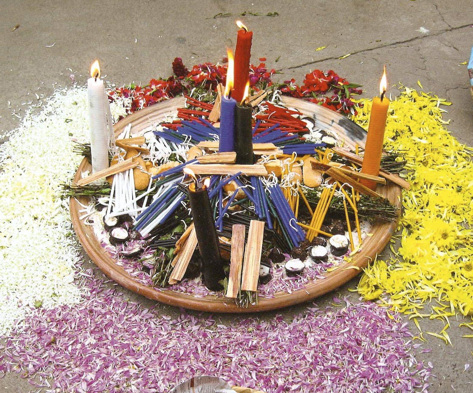Guatemalan Daykeeper ritual